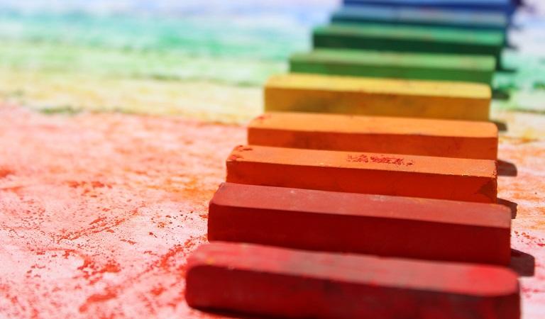 Workshop mit Kreidefarben für Kinder und Erwachsene