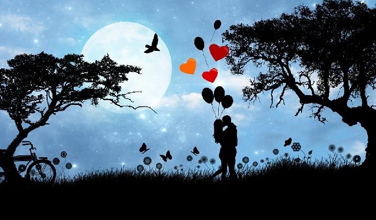 Wanderung für Liebende zum Valentinstag mit Überraschung