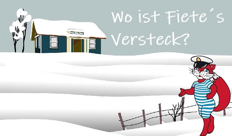 Winter-Schnitzeljagd